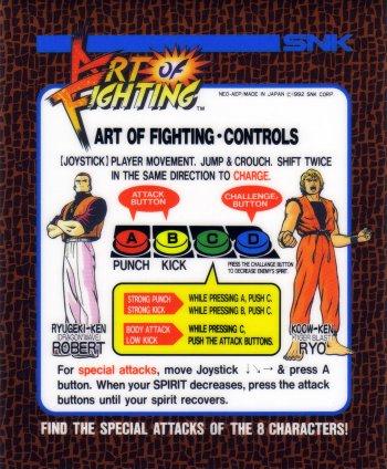 Mini-Marquee Art of Fighting
