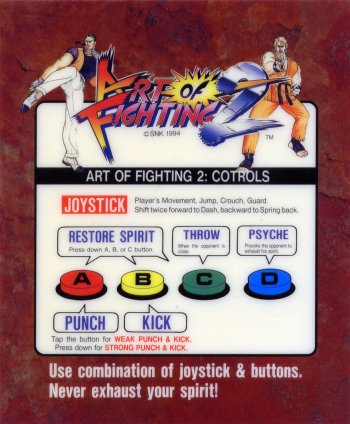 Mini-Marquee Art of Fighting 2