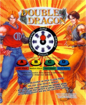 Mini-Marquee Double Dragon