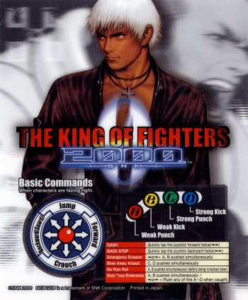 Mini-Marquee King of Fighters 2002