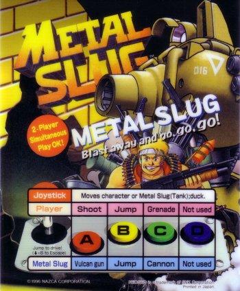 Mini-Marquee Metal Slug