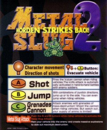 Mini-Marquee Metal Slug 2