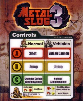 Mini-Marquee Metal Slug 3