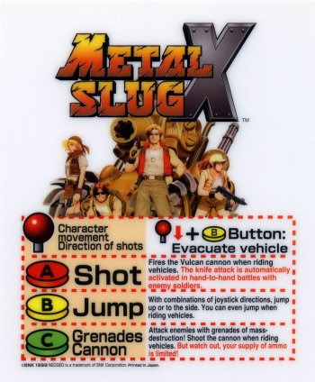 Mini-Marquee Metal Slug X