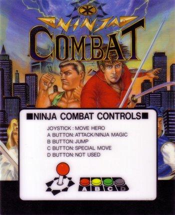 Mini-Marquee Ninja Combat
