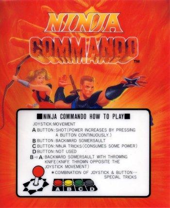 Mini-Marquee Ninja Commando