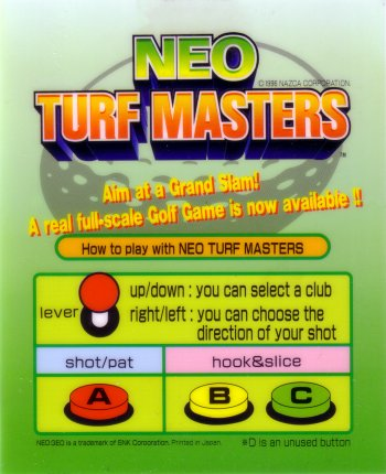 Mini-Marquee Neo Turf Masters
