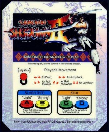 Mini-Marquee Samurai Shodown 2