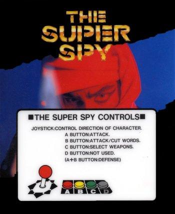 Mini-Marquee The Super Spy