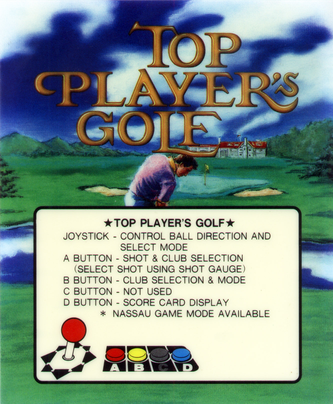 Top Player's Golf NEO·GEO AES & MVS