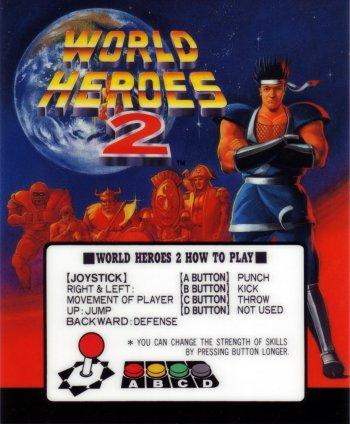 Mini-Marquee World Heroes 2