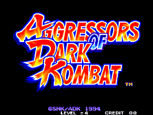 PCB Aggressors of Dark Kombat