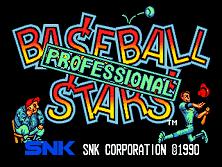 PCB Baseball Stars Professional