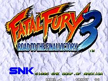 PCB Fatal Fury 3