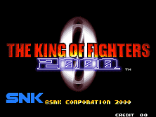PCB King of Fighters 2000