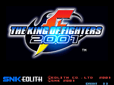 PCB King of Fighters 2001
