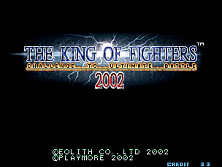 PCB King of Fighters 2002