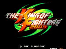 PCB King of Fighters 2003