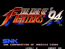 PCB King of Fighters '94