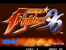 PCB King of Fighters '96