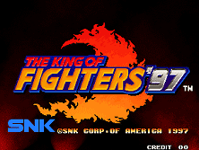PCB King of Fighters '97