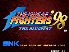 PCB King of Fighters '98