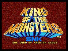 PCB King of the Monsters