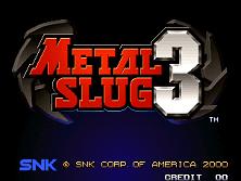 PCB Metal Slug 3