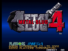 PCB Metal Slug 4
