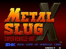 PCB Metal Slug X