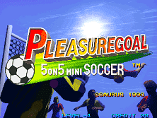 PCB Pleasure Goal: 5 on 5 Mini Soccer