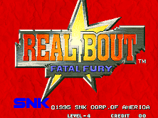 PCB Real Bout Fatal Fury