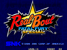 PCB Real Bout Fatal Fury Special