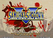 PCB Samurai Shodown 5
