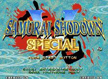 PCB Samurai Shodown 5 Special Fixed