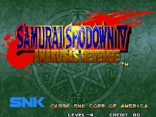 PCB Samurai Shodown 4: Amakusa's Revenge