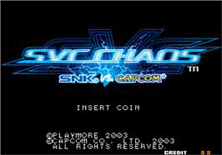 PCB SVC Chaos: SNK vs. Capcom
